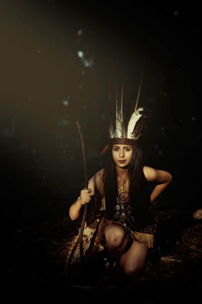 Femme ojibwe-attrape reve