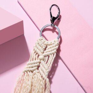 Porte-clés macramé 8