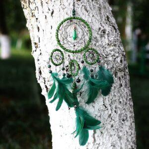Attrape Rêve Vert 8