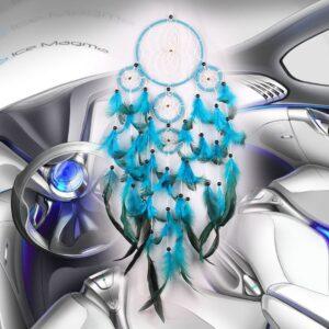 Attrape Rêve Turquoise 7
