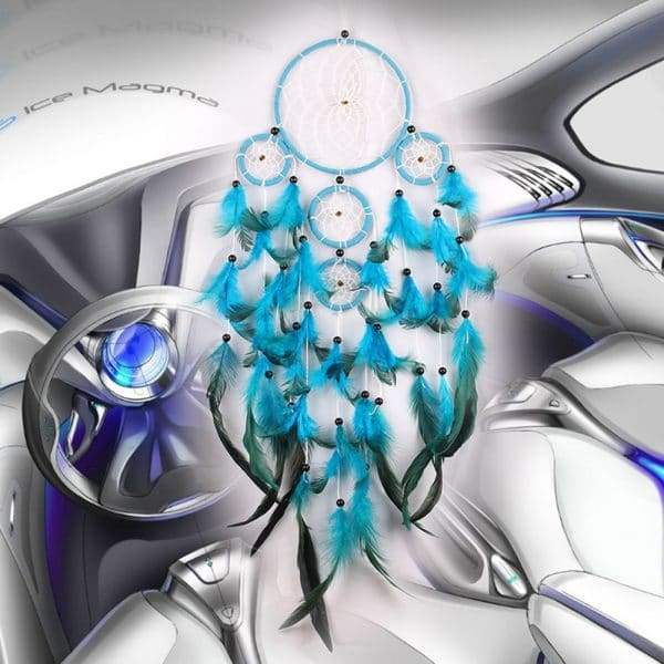 Attrape Rêve Turquoise 2